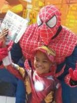 Spider man style Party Character