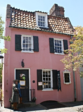 Pink House in Charleston SC