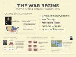 The Civil War Begins History Presentation