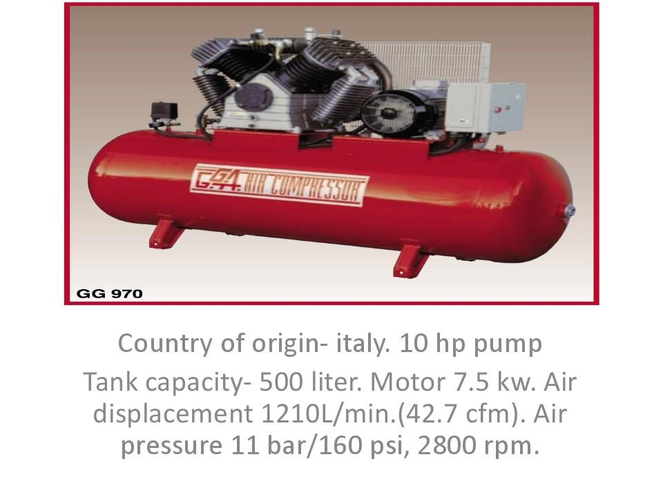 all kind of air compressor supply, service in doorstep