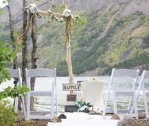 We specialize in small weddings and elopements in Skagway Alaska