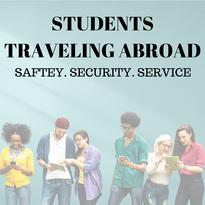 Students, Traveling, Abroad, Safety, Security
