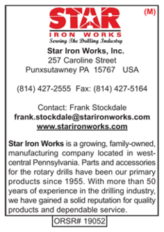 Drill Pipe, Star Iron Works