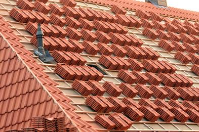 Clay tile installation in Houston; Houston roof contractor clay tile installation; residential roofing in Houston;