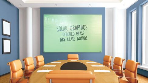 Solar Graphics Colored Dry Erase Board picture image