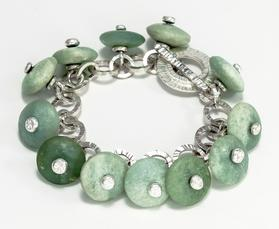 Carol Holaday - Sea Foam - bracelet