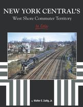 New York Central's West Shore Commuter Territory In Color