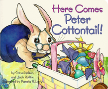 Here Comes Peter Cottontail! board book