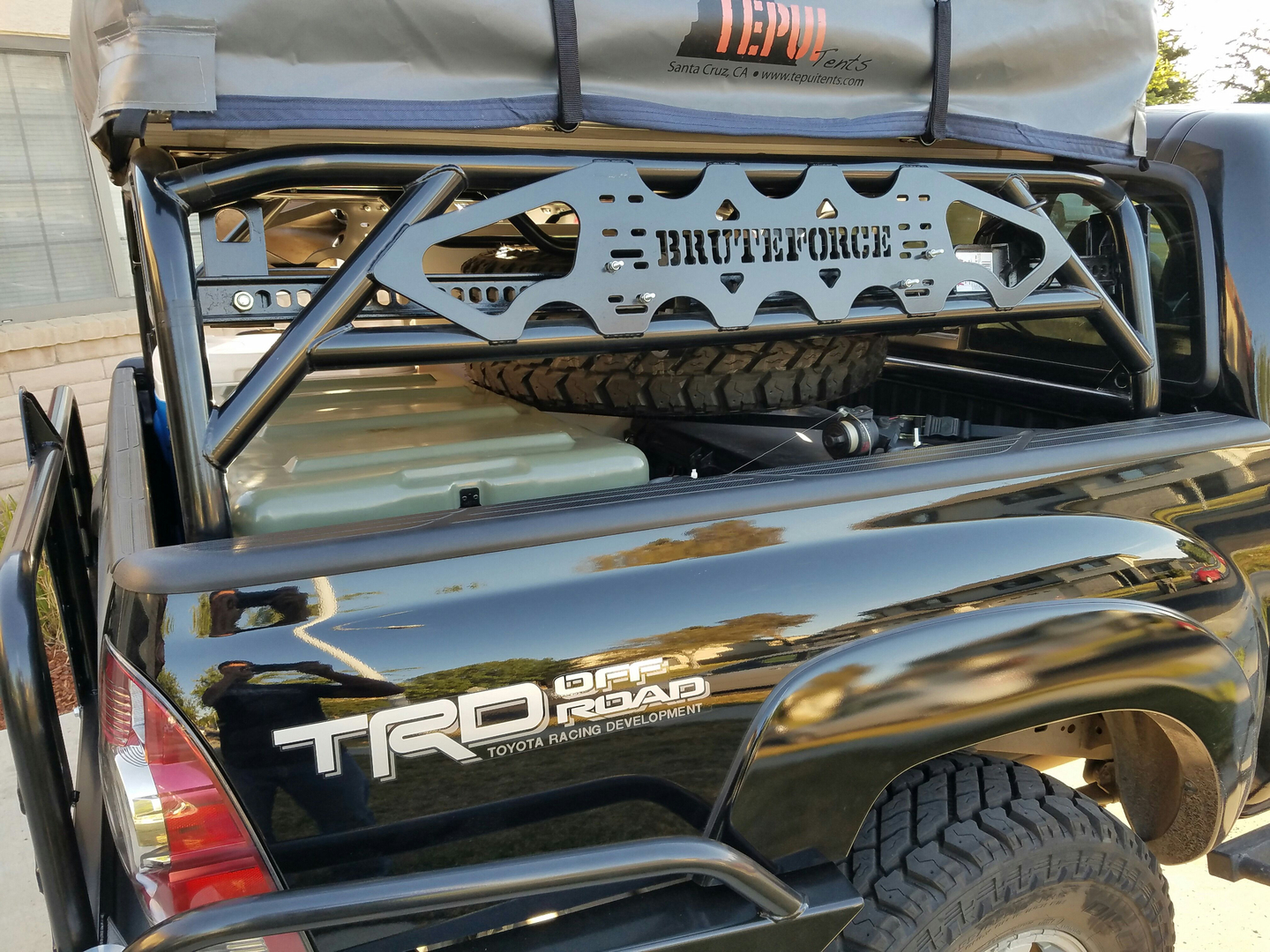Toyota Tacoma Bed Cage