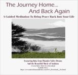 photo of cover for journey home and back again meditation from thunder valley drums