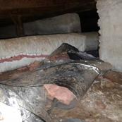 Damaged Duct Work