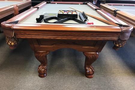 PreOwned Pool Tables - Under pool table storage