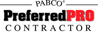 Pabco PreferredPRO Contractor; Pabco PreferredPRO Contractor Certification; Pabco PreferredPRO logo; Pabco PreferredPRO roofer; Pabco PreferredPRO roofing Contractor