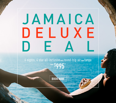 Jamaica all inclusive luxury promo from $995ppwith round trip flights