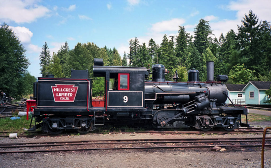 Hillcrest Lumber Company Class B Climax No. 9.
