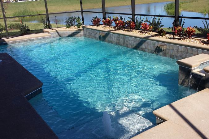 Swimming pool builder serving titusville melbourne all of brevard county florida for Swimming pools melbourne prices