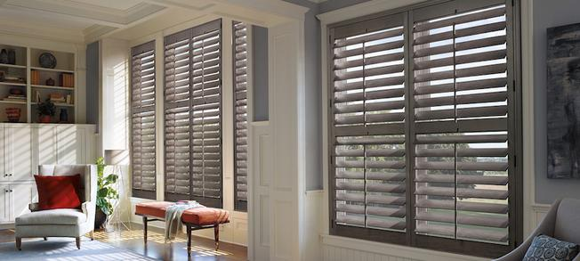 Some of our shutters in Carlsbad, CA