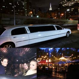 Limousine rental Holiday shopping ideas NYC