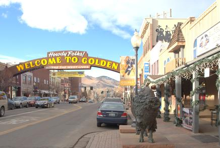 Picture of Downtown Golden Colorado