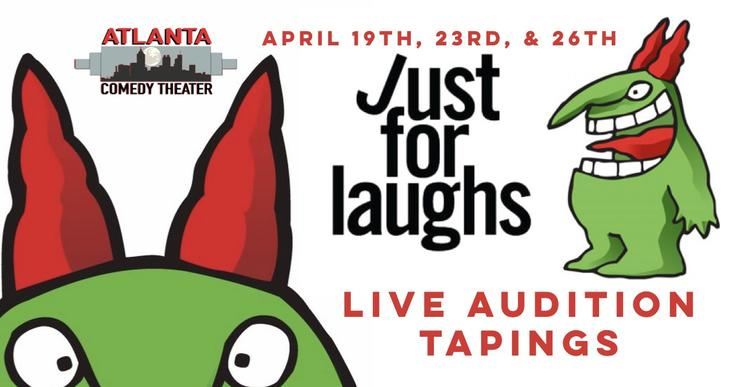 JUST FOR LAUGHS Atlanta Comedy