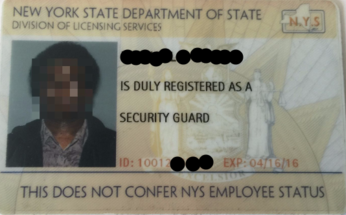 NYS Security Guard License -Star Security Training Brooklyn, ny