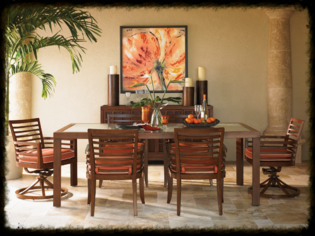Tommy Bahama Ocean Club Pacifica Dining Set