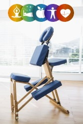 Health Wellness Program Chair Massage