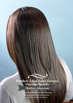 Hair Color Salon In Addison Matthew Adam Salon Services