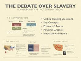 The Debate Over Slavery Presentation