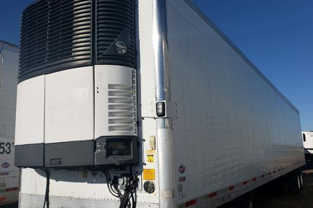 2007 53x1012 UTILITY Reefer Trailer with Carrier Unit