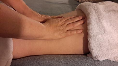 Patient receiving pelvic pain therapy in Roswell, GA