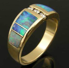 Hileman Australian opal ring repair