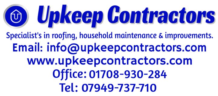 upkeep contractors, roofers in romford,hornchurch,dagenham,essex,london. upkeep contractors full house refurbishments and maintenance in romford.