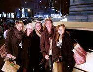 Christmas in New York Limo rental