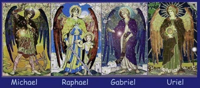 Image result for Four Archangels