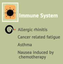 Immune support, Allergic rhinitis, Cancer related fatigue, Asthma, Nausea induced by chemotherapy at Ondol Clinic, Toowong