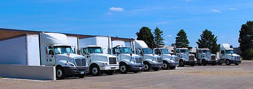 Pinnacle Recycling's Fleet in Akron, OH