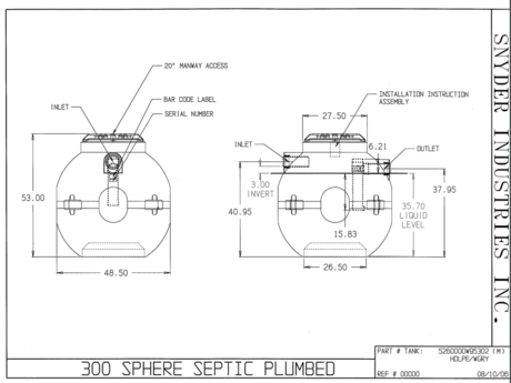 plastic septic tank installation instructions