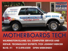 MotherBoards Service truck