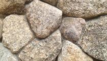 New England Fieldstone Veneer round shape