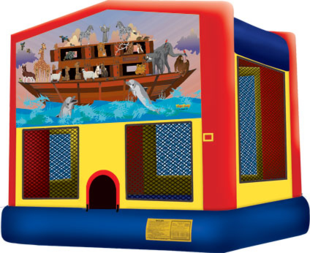 www.infusioninflatable.com-noahs-ark-bounce-house