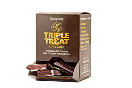 TRIPLE TREAT™ CHOCOLATE - 20 CT BOX