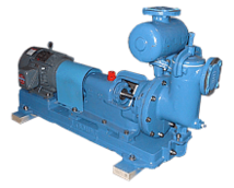 Rebuilt self-priming filtrate pump