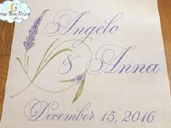 starry night design aisle runners