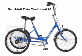 Sun Adult Trike Traditional 20