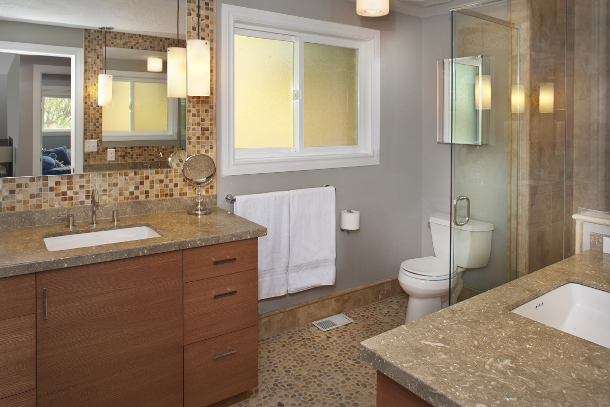 Remodel Bathroom Return On Investment bathroom remodel - build it boys construction - yelm, wa
