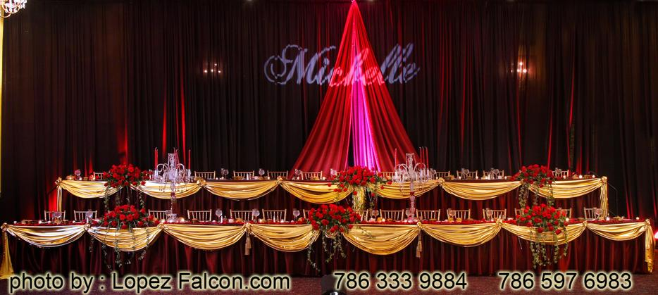 Stage Decoration Quinces Miami Quinceanera Phantom of the Opera