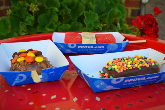 Ice Cream Pop Trays Custom Printed