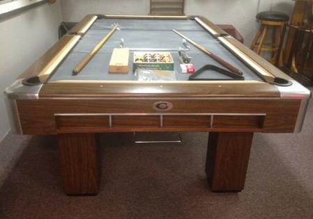 PreOwned Pool Tables - Gandy pool table