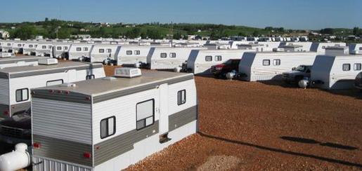 Trailer Park Rental Cabins McKenzie County Williston ND Montana